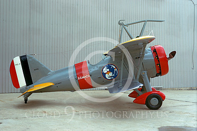Curtiss F9C Sparrowhawk Warbird Airplane Pictures