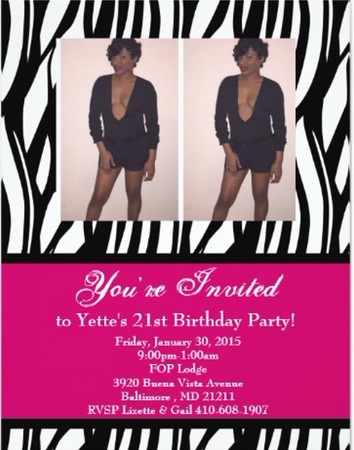 Yette's 21st Birthday Party @FOP Lodge 1.30.15