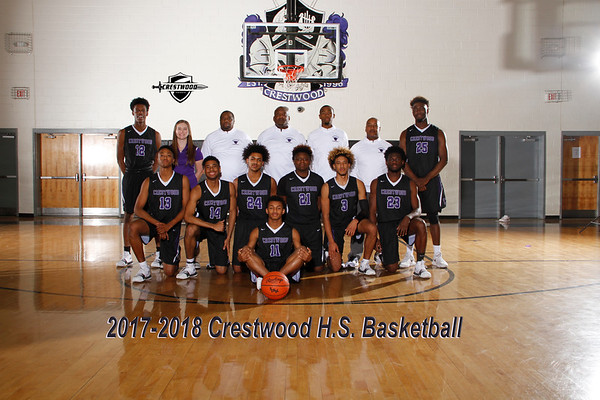 2017-2018 Varsity Boys Basketball