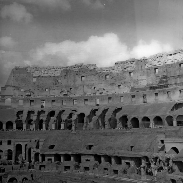 Colosseum in Rome 10:Italy beyond 70mm. Photographs taken on 80mm (Medium format film)