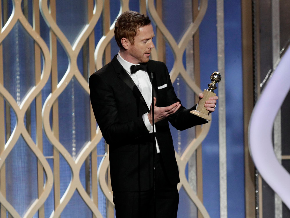 Description of . Best Actor in a Television Series - Drama: Damian Lewis, Homeland