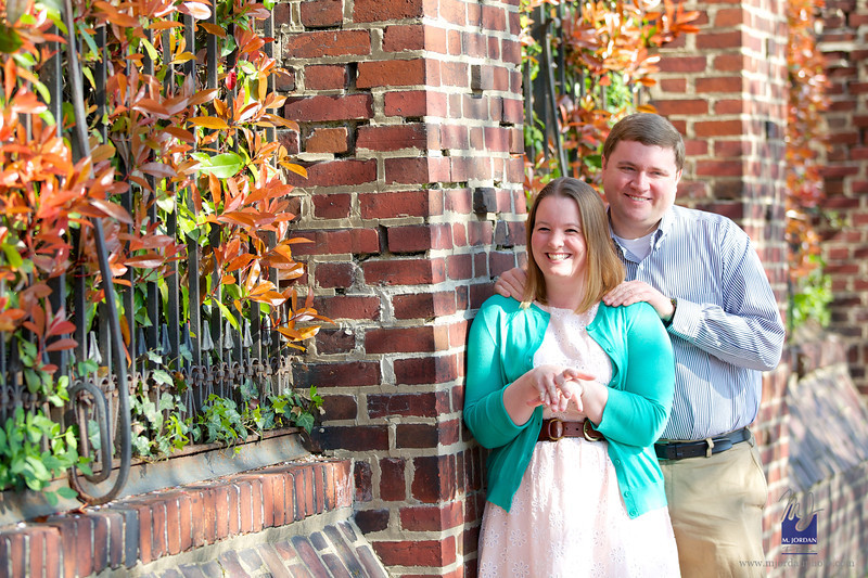 Kristy & Brian | Old Town Alexandria Engagement