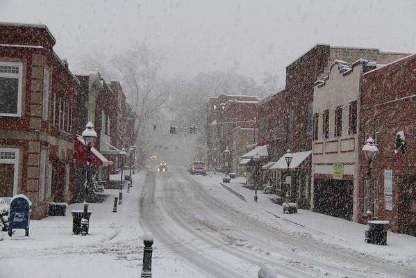 2013,  Winter Snow Photos of Rogersville