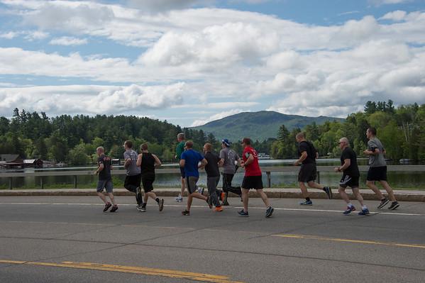 2014 Saranac Lake to Lake Placid Torch Run