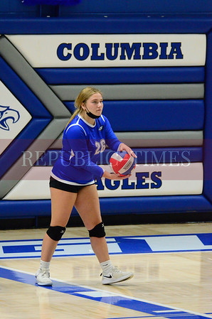 CHS volleyball vs. East St. Louis - Oct. 13, 2021