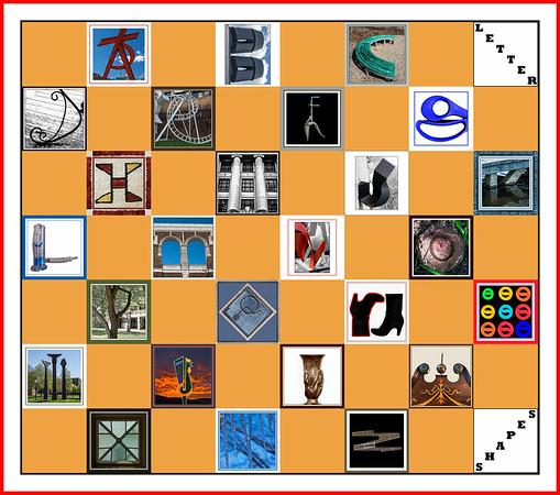Letter Shape Challenge Posts