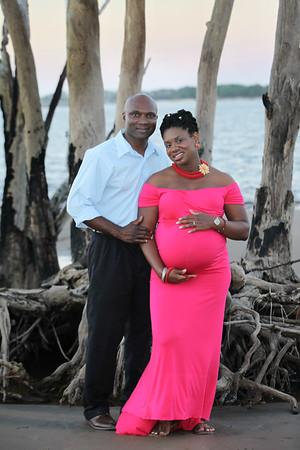 Ezedike Family/ ChiChi's Pregnancy 2017, Little Talbot Island