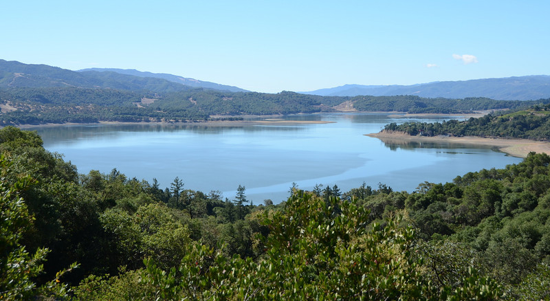 Lake Mendocino (Road B, Calpella)