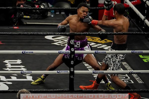 Desmond Jarmon vs. Kendrick Latchman