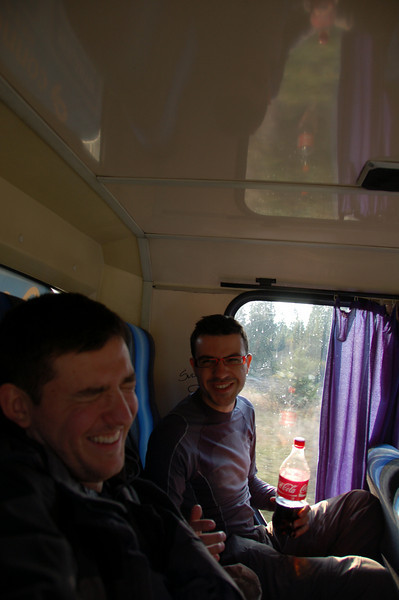 On the bus to Sanok