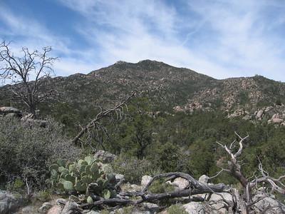 Weaver Peak - Apr. 11, 2010
