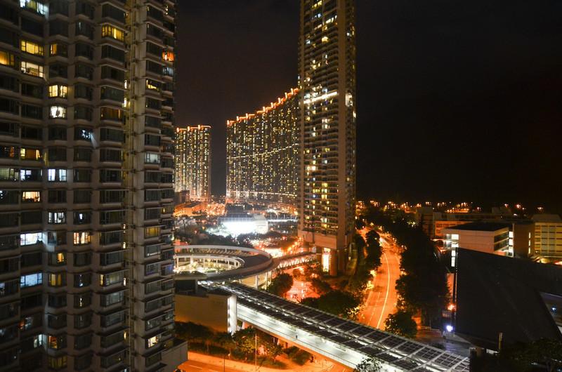 Hong Kong feels very different - very cosmopolitan city.