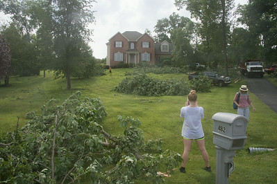 Fritts Storm Damage