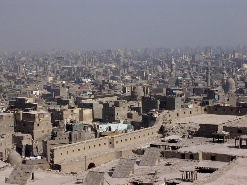 Utsikt over Kairo fra Citadellet (Foto: Ståle)