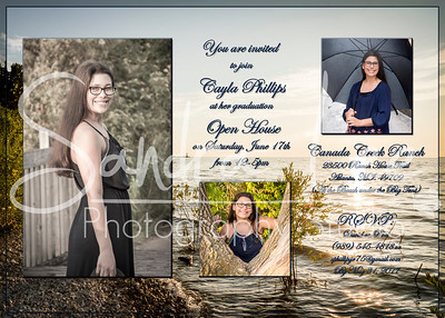 Cayla Invitations Graphic Design - Bay Harbor - Petoskey