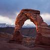Sunrise at Delicate Arch