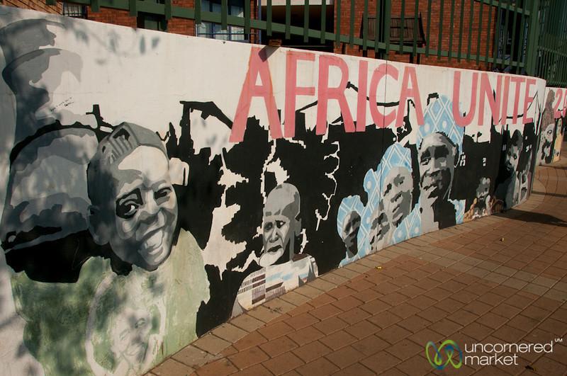 Africa Unite, Johannesburg Street Art - South Africa