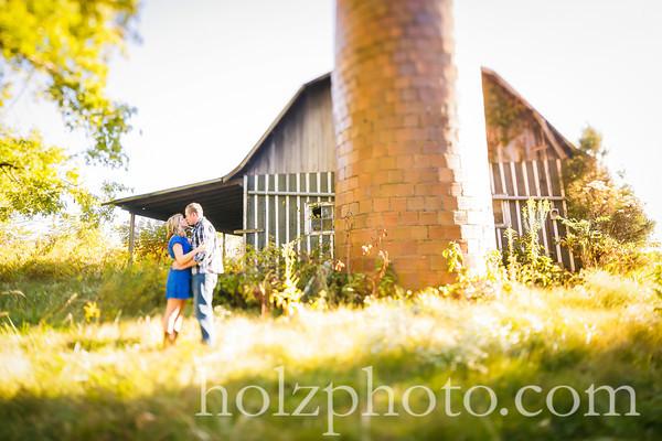 Paige & Andrew Color Engagement Photos