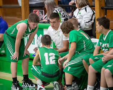 Basketball Junior High Thayer 7th & 8th Vs Willow Springs 11252019