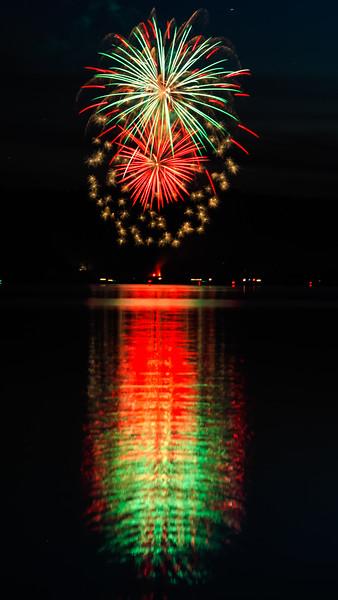 Dexter Lake Fireworks