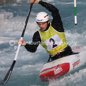 GB Canoe Slalom Selection Trials 2014 - Lee Valley White Water Centre, London