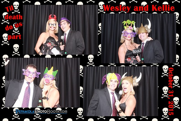 Wesley and Kellie's Wedding 10-31-2015