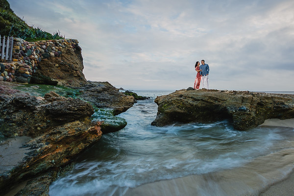 Jason and Jenica | Laguna Beach Engagement