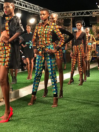 Accra Fashion Week  2019 pt1 Chilly Rainy