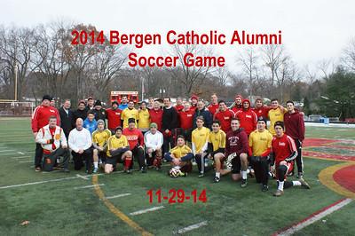 BC 2014 Alumni Soccer Game