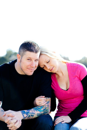 Eric & Jenna Engagement Photos Feb 2012