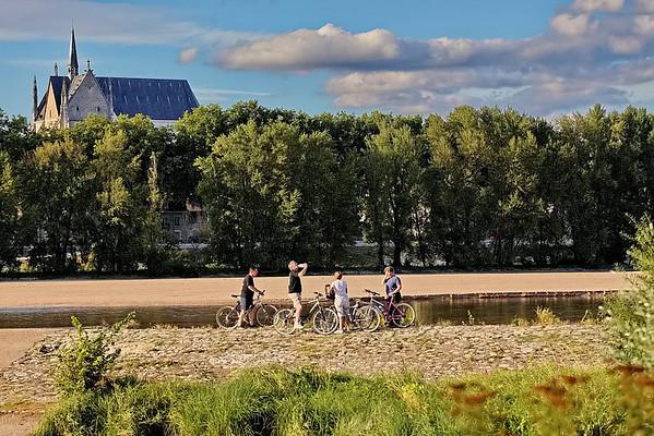 Orléans bords de Loire à vélo