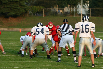 Boys JV Football - 9/25/2008 Fruitport