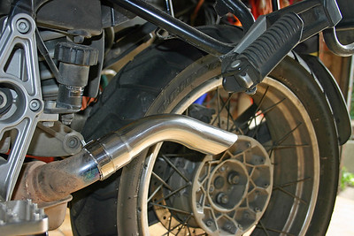 Modification exhaust
