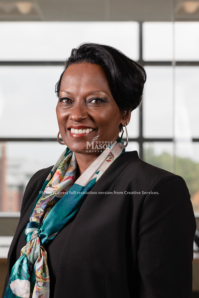 George Mason University Chief of Staff Dietra Trent. Photo by Lathan Goumas/Office of Communications and Marketing   Photo Taken:Tuesday, September 17, 2019