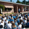 NOTRE DAME ELEMENTARY STUDENTS CELEBRATE EARTH DAY