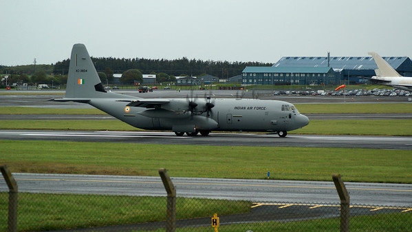 Indian Air Force Hercs at prestwick