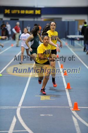 Girls' Sprint Medley - 2015 Feb 13 MITS at UM