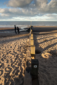 Walking on Portobello Beach