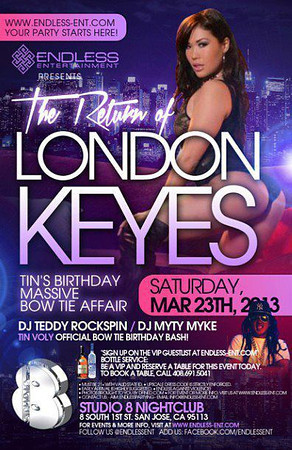 Endless Ent. London Keyes hosts Studio 8