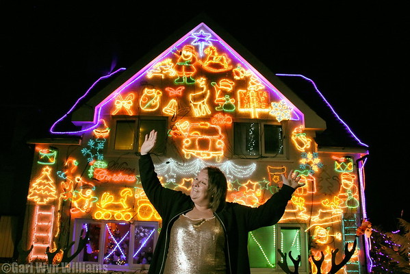 Debbie - Christmas lights home