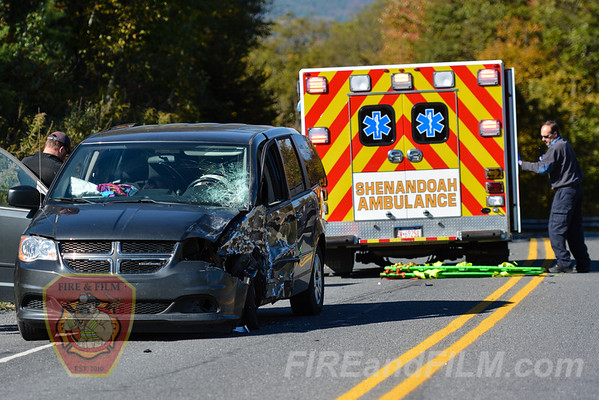 Schuylkill County - Union Twp. - MVA w/injury - 10/11/2016