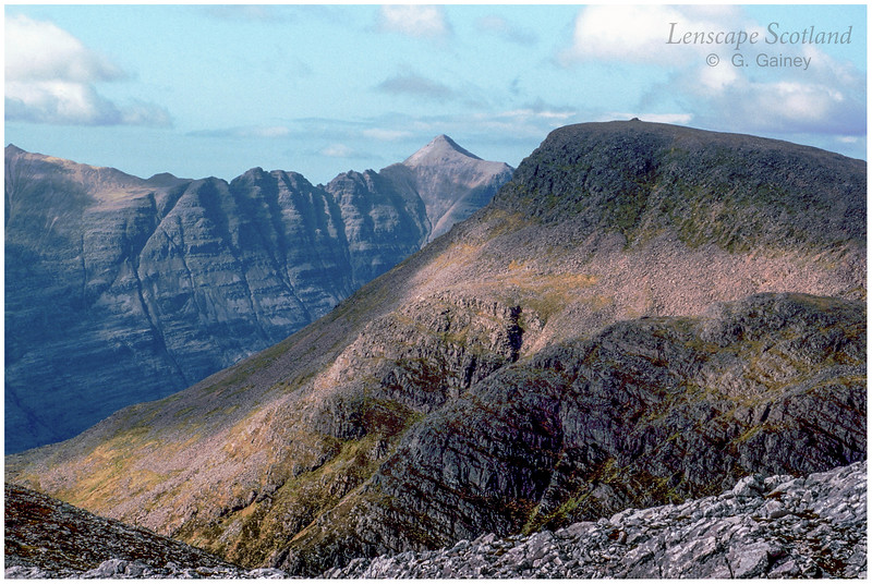 Liathach & Maol Chean-dearg from An Ruadh-stac (scanned from a 1999 slide)