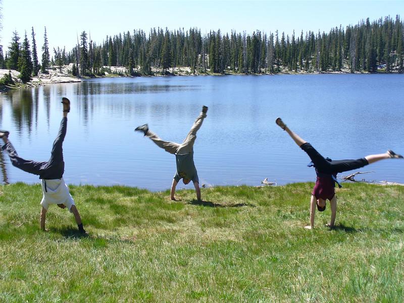 Court Jacobsen - Island Lake, Uintah Mountains, Utah