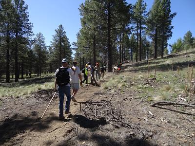 2013-06-01 National Trail Day Flagstaff Kelly Trail