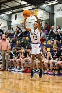 Basketball (JH Boys) vs Crossings, January 7