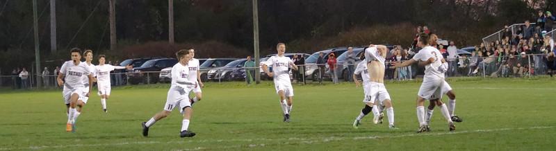 Varsity Boys Soccer vs New Milford - 10/27/2017