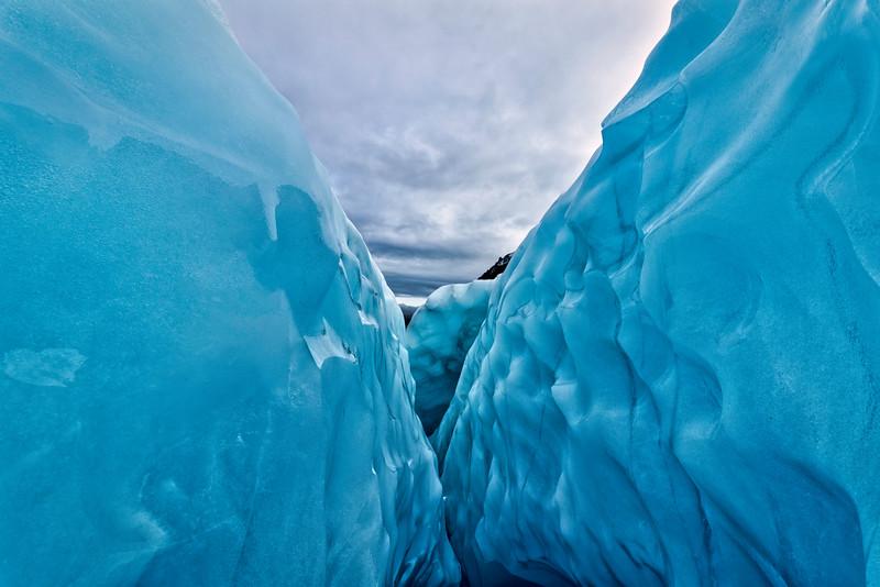 Ice Cravass on Fox Glacier