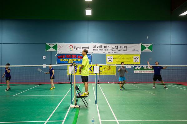 7th Annual Eye Level Badminton Tournament 4.18.2015