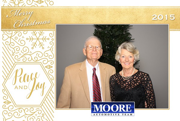 Moore Automotive Team - 2015 Christmas Party