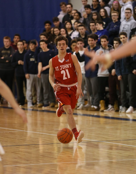 St John's @ Shrewsbury - Big Red Win 40-44
